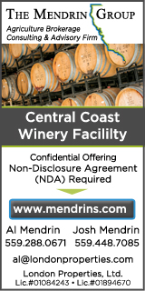 The Mendrin Group - Central Coast Vineyards For Sale