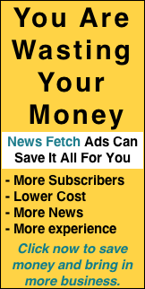Don't waste your money, advertise with Wine Industry Insight's News Fetch. More subscribers, Lower rates,more news, more experience