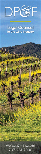 Rooted in the wine regions of Napa and Sonoma, Dickenson Peatman & Fogarty provides full service legal representation to clients throughout California, the United States and abroad, and has extensive experience in wine law and the wine industry.  The Firm's major practice areas include alcohol beverage law, business and corporate dealings, land use matters, labor and employment, civil litigation, intellectual property, geographical indications, real property transactions, estate planning and probate, water law as well as wine law.
